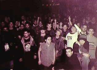 The audience at Coney Island High as seen by Ralphy Boy
