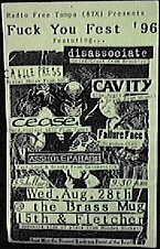 Disassociate Florida 96 flyer