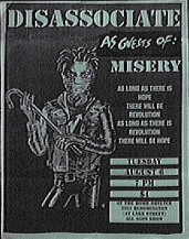 Disassociate Minneapolis 96 flyer