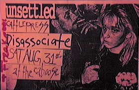 Disassociate North Carolina 96 flyer
